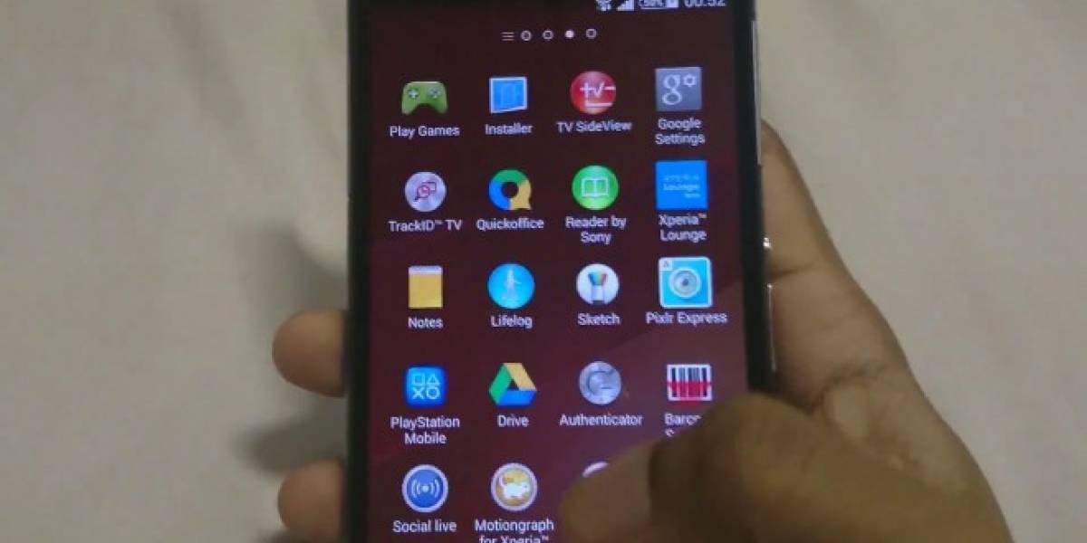 Aparece video de 12 minutos que revela en detalle al Sony Xperia Z2