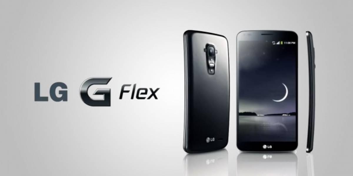 LG G Flex llega a Entel