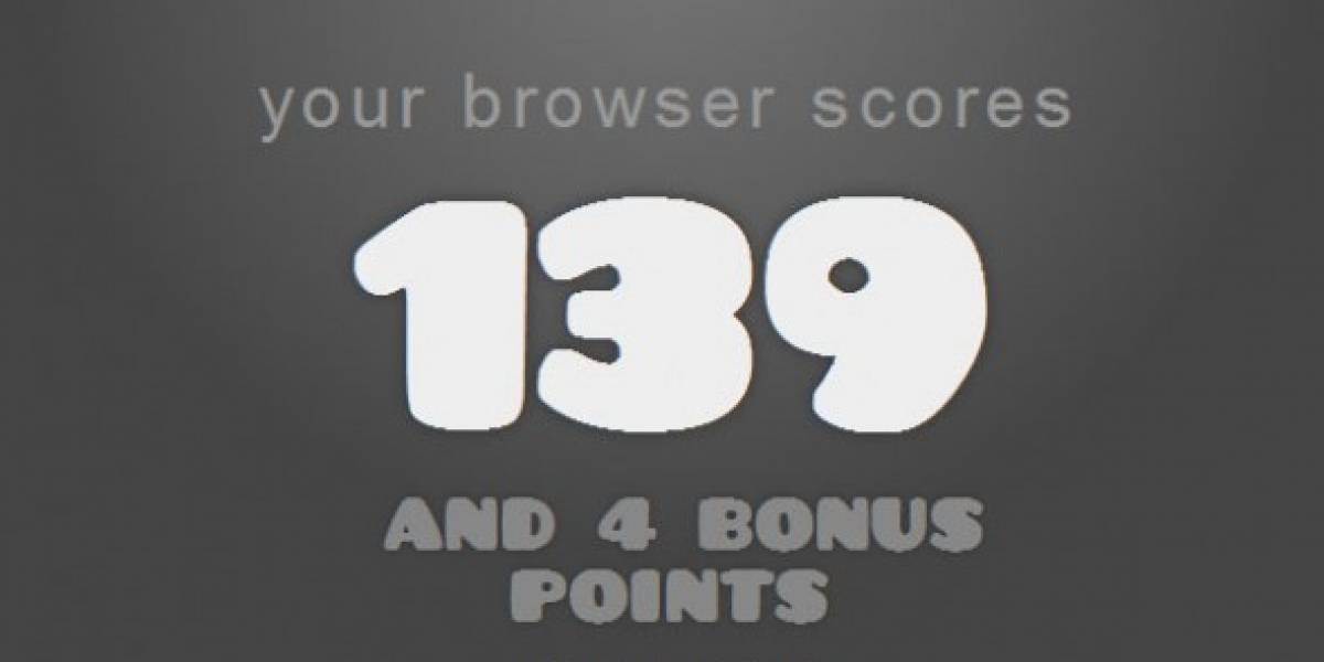 ¿Cómo anda tu navegador con respecto a HTML5?