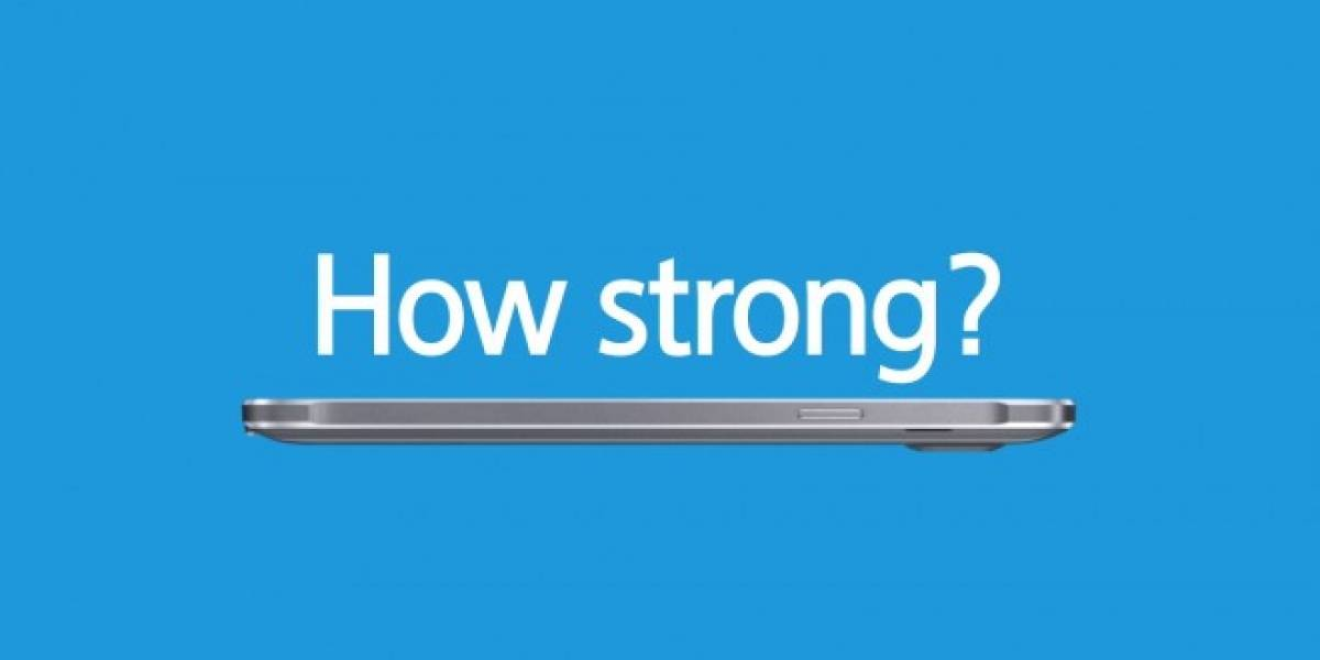 Samsung demuestra que su Galaxy Note 4 no se dobla