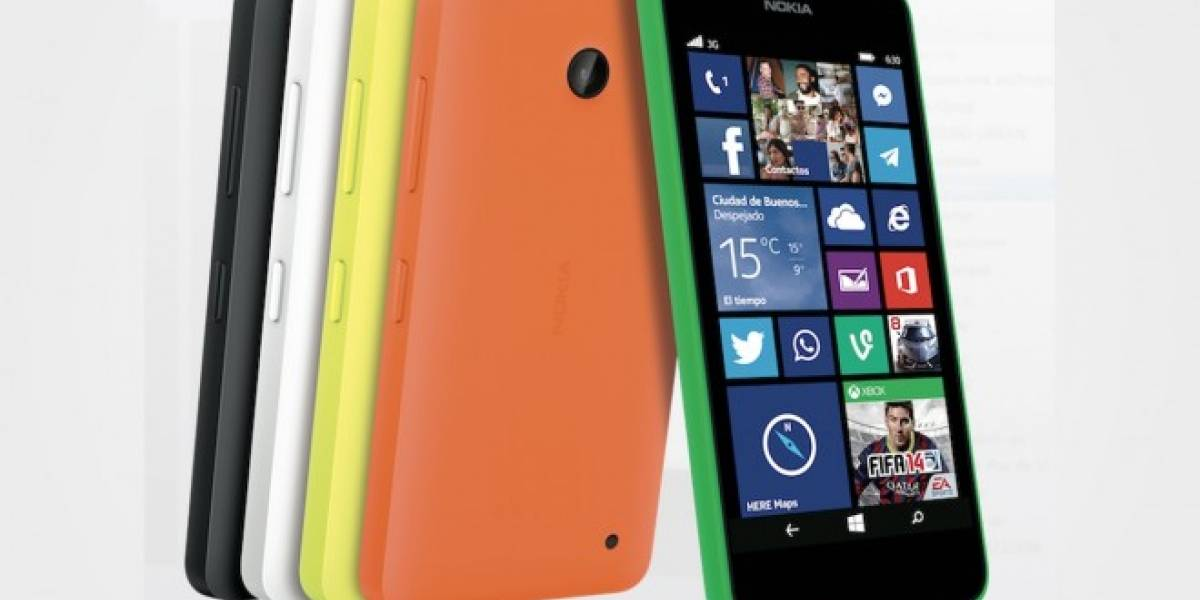 Nokia Lumia 630 con Windows Phone 8.1 llega a Chile