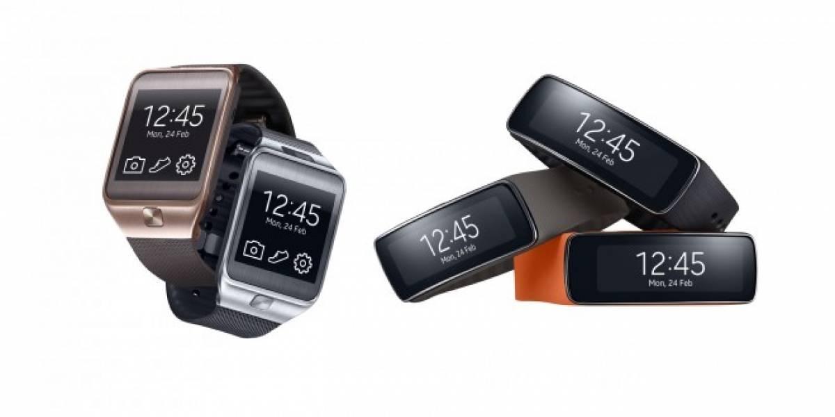 Samsung presenta Samsung Gear 2 y Gear Fit #MWC2014