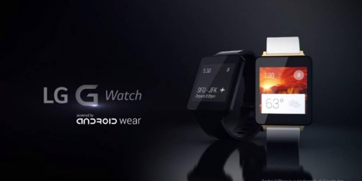 LG G Watch aparece en un video promocional