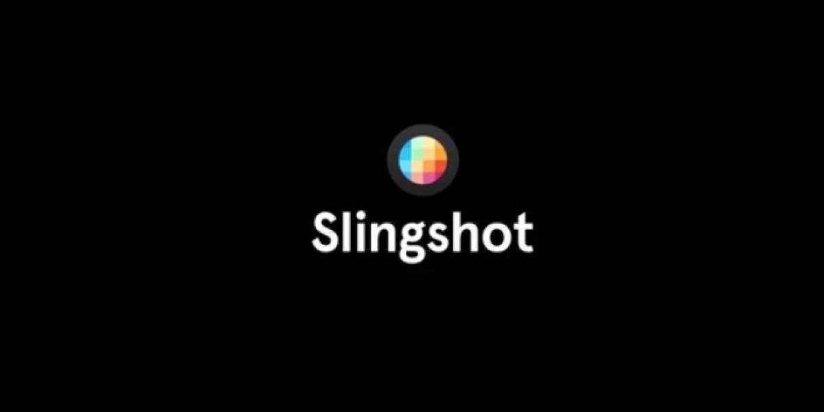 Slingshot de Facebook ya es oficial