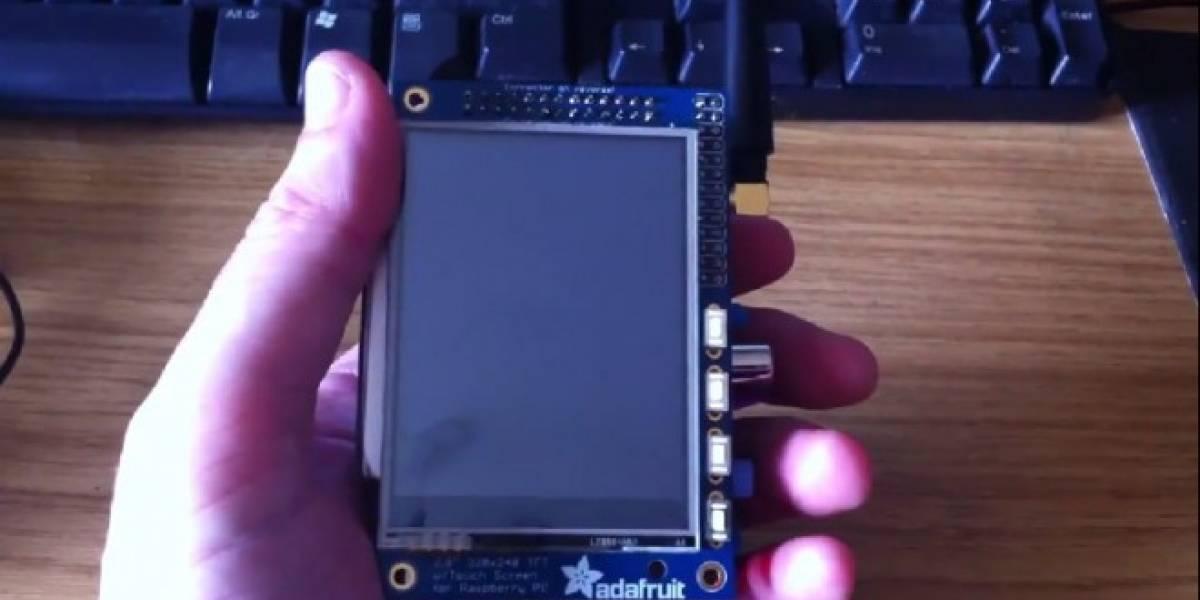 Raspberry Pi se convierte en un smartphone con PiPhone