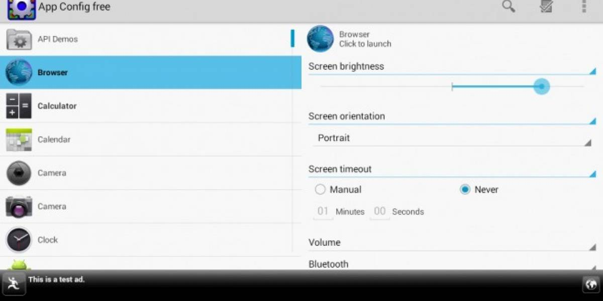 Personaliza la configuración de tu celular dependiendo de la aplicación que ejecutes