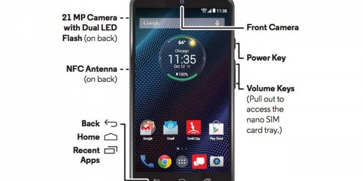 Un nuevo Motorola Droid Turbo aparece en la web y podría tener una batería de 3.900 mAh