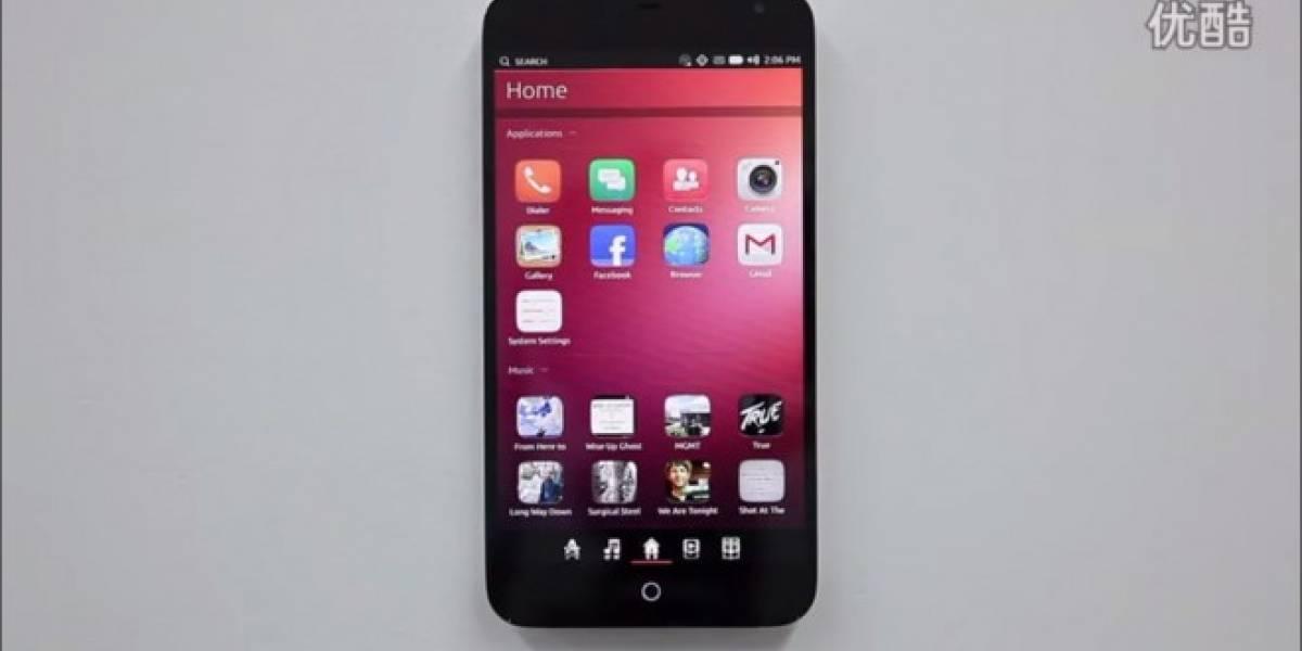 Meizu muestra su MX3 corriendo Ubuntu Phone