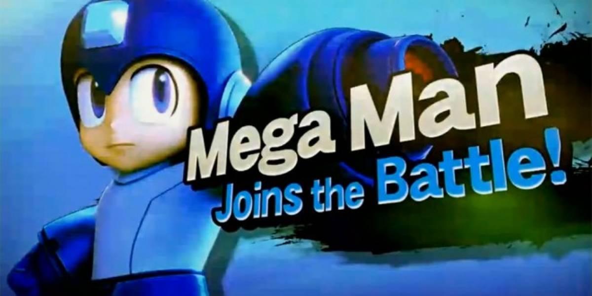 Nintendo anuncia Super Smash Bros. para Wii U y 3DS, con Mega Man #E3
