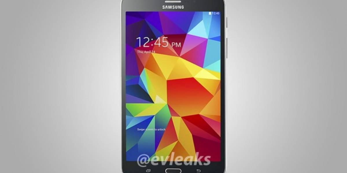 Aparece imagen de lo que sería el nuevo Samsung Galaxy Tab 4 7.0