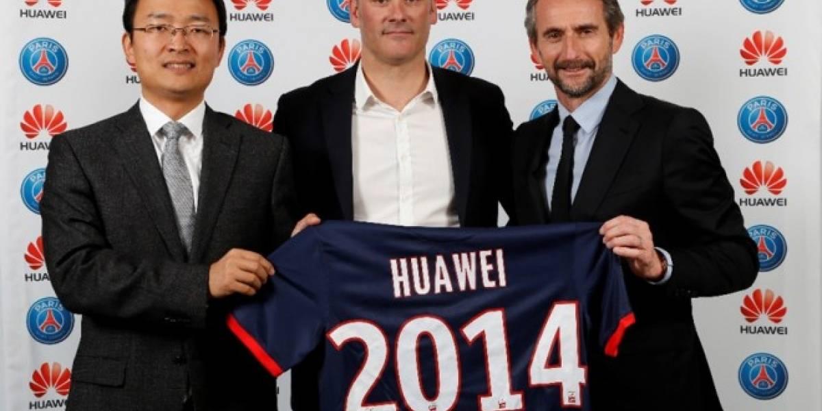 Huawei se convierte en partner oficial del Paris Saint-Germain