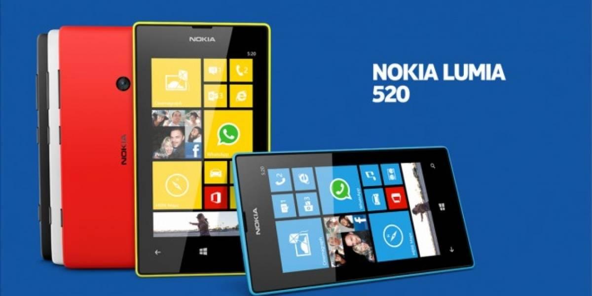 Nokia Lumia 520 ya lleva más de 12 millones de activaciones