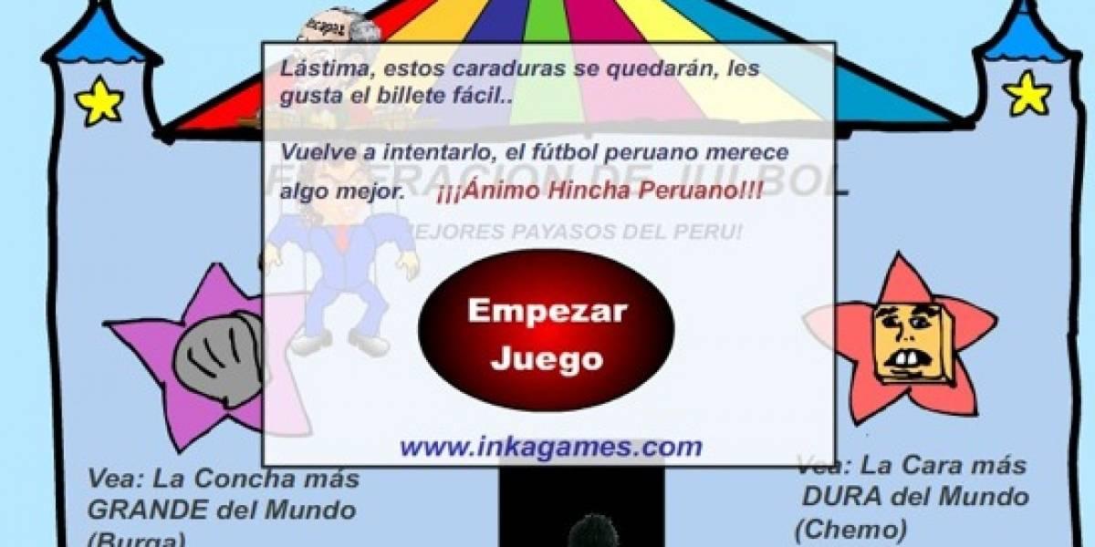FUTBOL: Uruguay 6 - Perú 0. INTERNET: Perú 1.000 - Uruguay 0