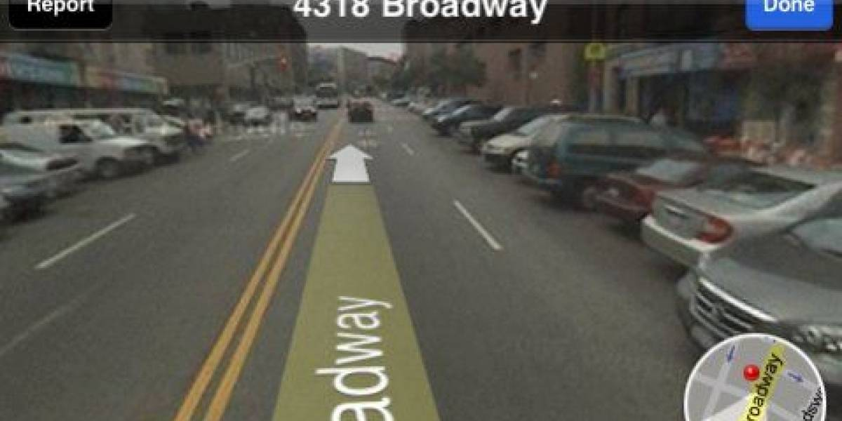 Street View llega al iPhone con el firmware 2.2
