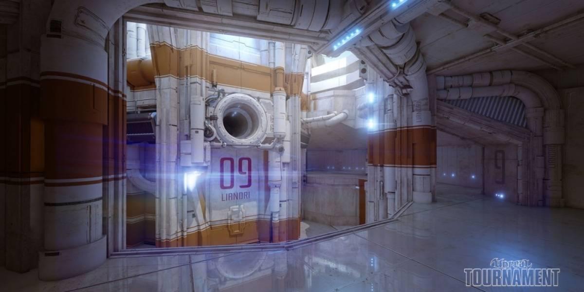 El primer nivel del nuevo Unreal Tournament luce impresionante