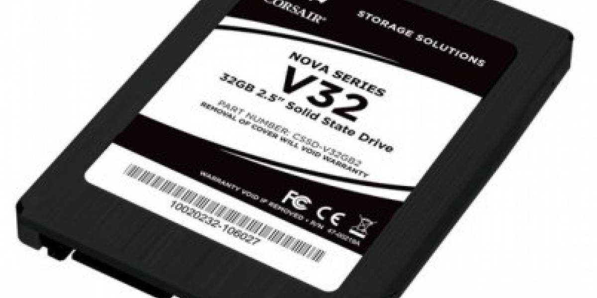 Corsair presenta SSD Nova Series 32GB bajo US$70