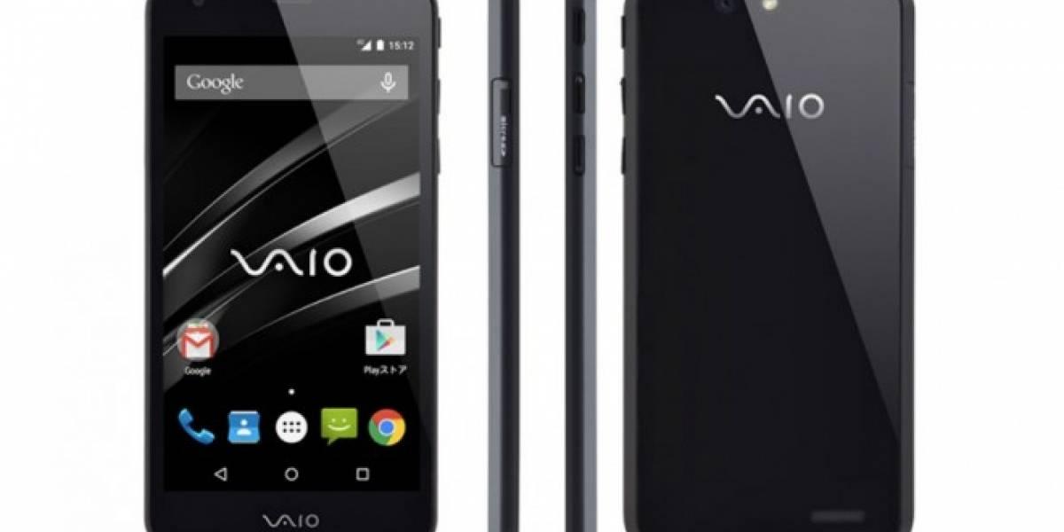 VAIO presenta su primer smartphone