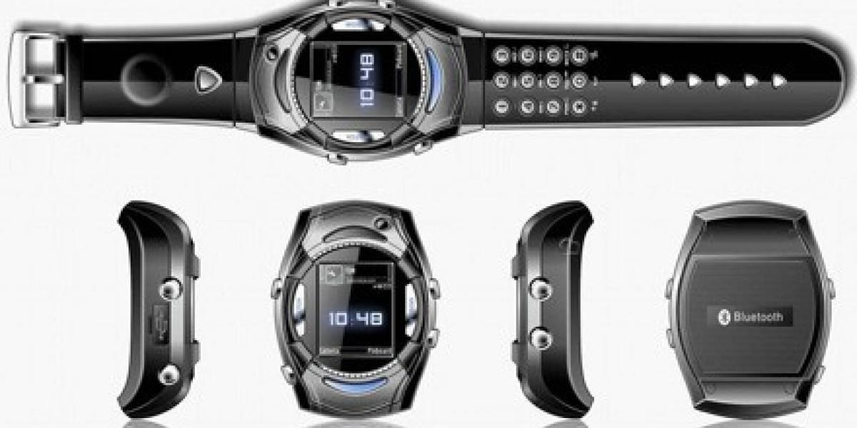 Van Der Led MW2: Reloj celular