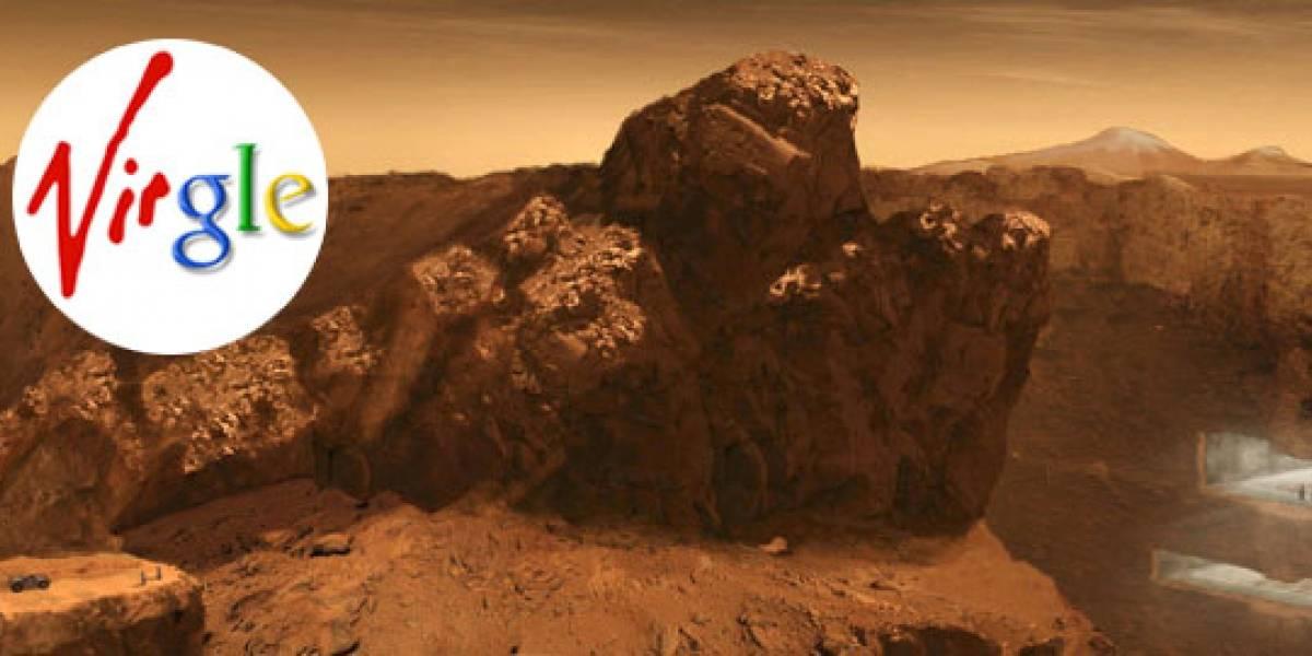 Virgle: Virgin y Google quieren colonizar Marte