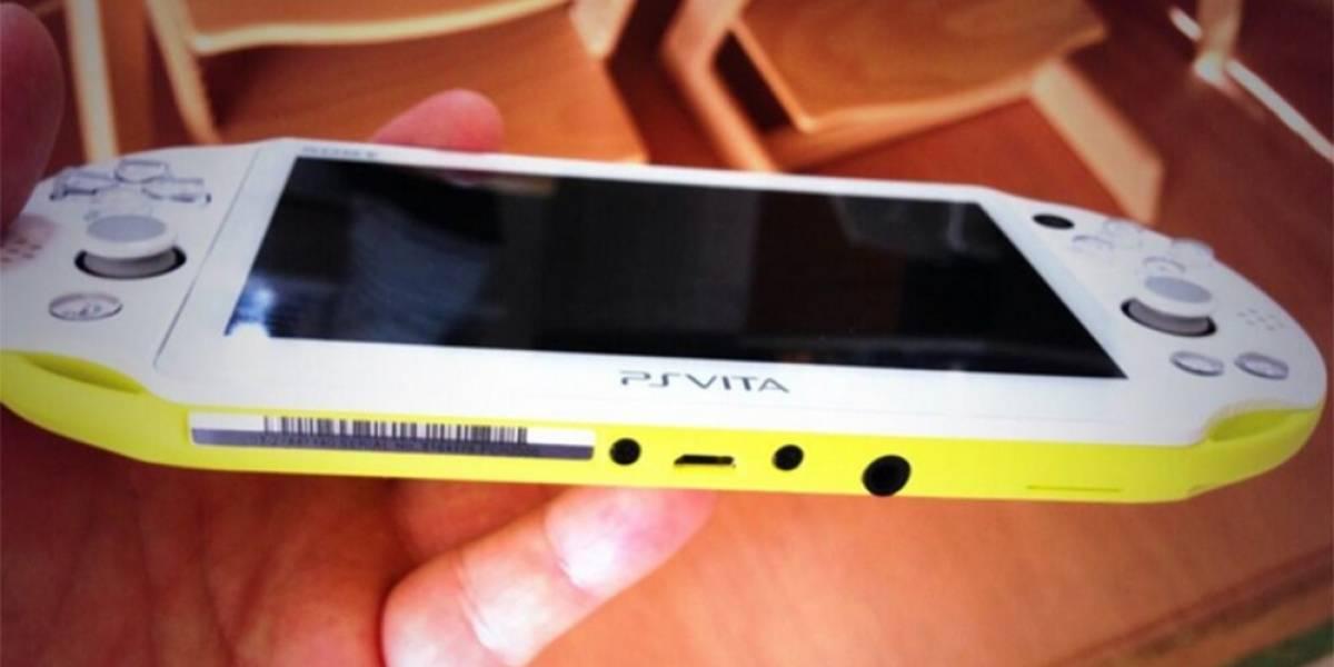 Nuevo diseño de PS Vita es compatible con cargadores Micro USB