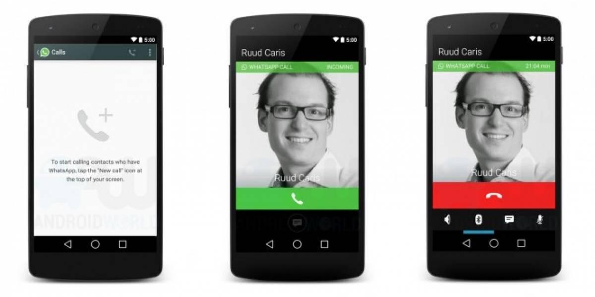 Llamadas de voz en WhatsApp funcionarían bien en Edge y 3G