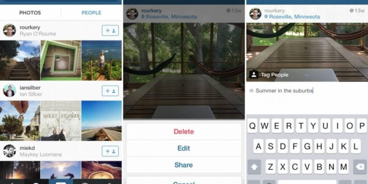 Instagram ahora te permite editar los textos que acompañan a las imágenes