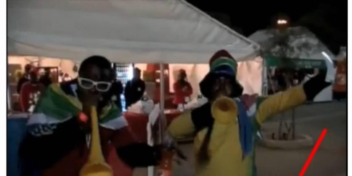 YouTube también tiene fiebre de Vuvuzela