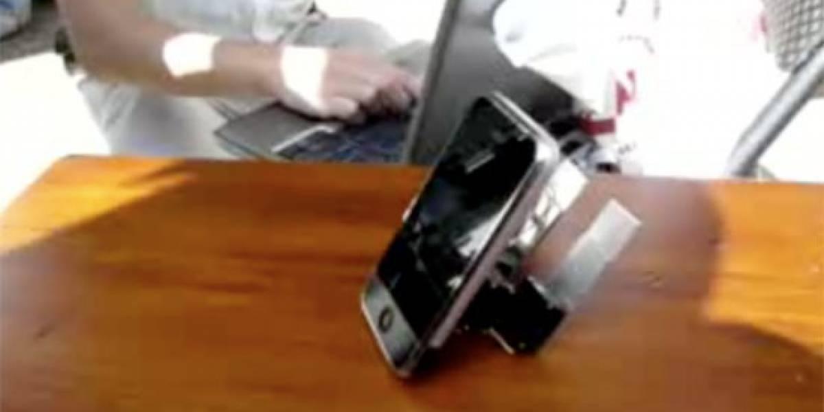 Impresentable: Un iPhone que camina