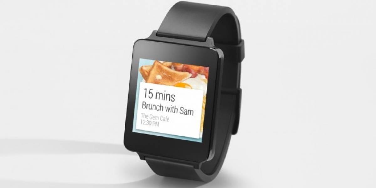 Filtran especificaciones técnicas del LG G Watch