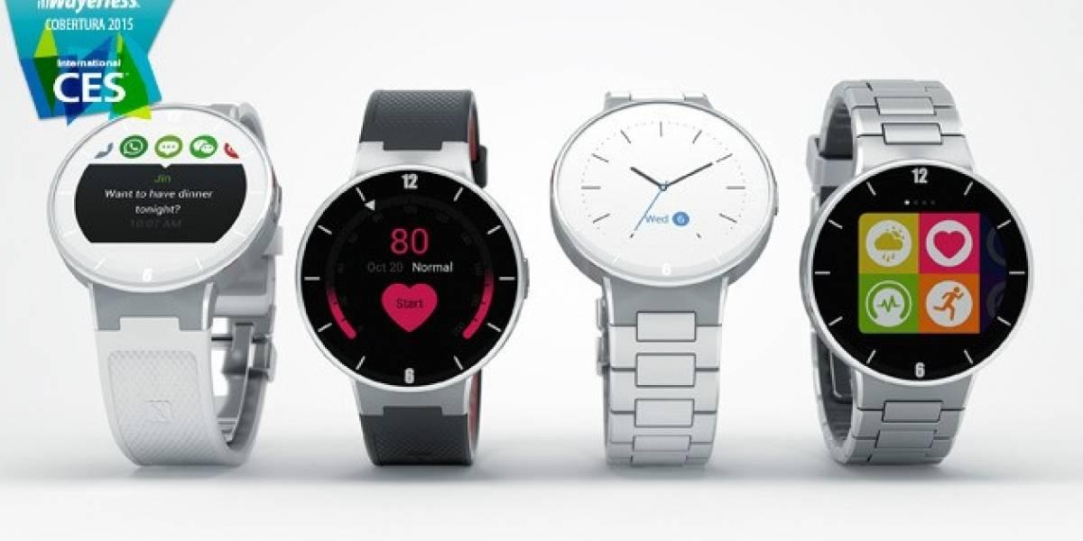 Alcatel OneTouch presenta su nuevo reloj inteligente llamado Watch #CES2015