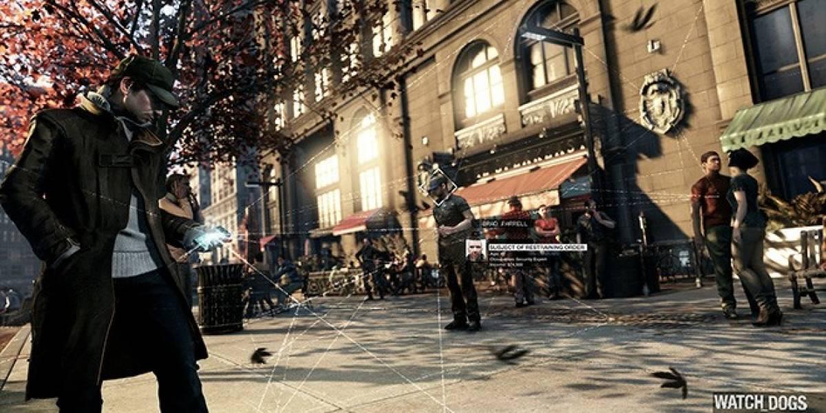Este video de Watch Dogs no estaba corriendo en PS4, sino en PC (otra vez)