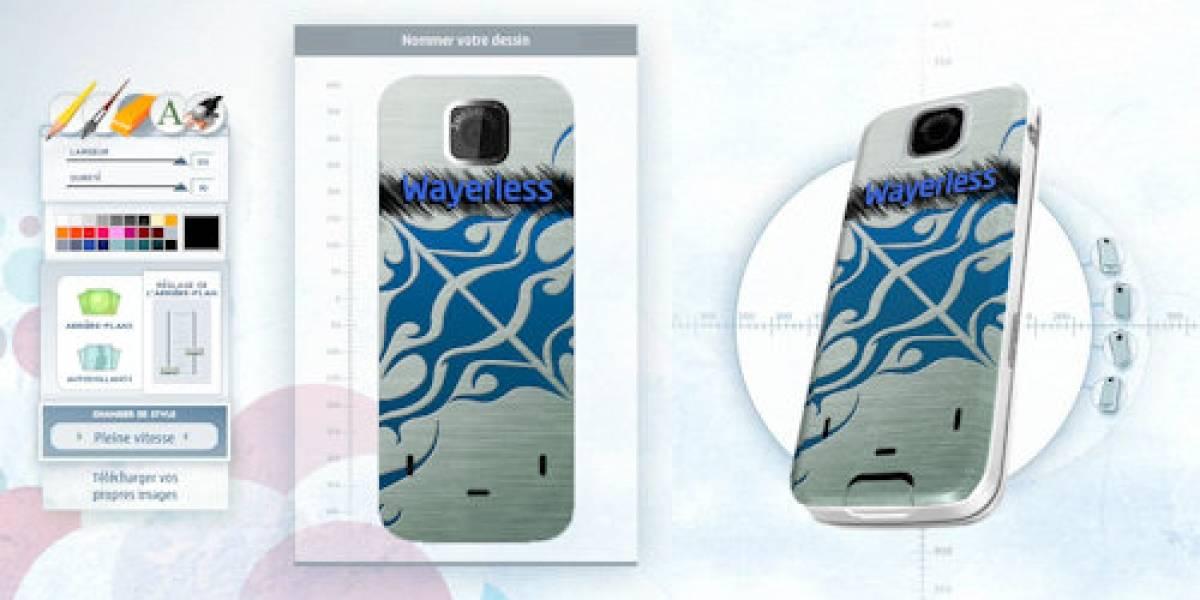 Nokia Build: Personaliza tu Nokia 7310 antes de comprarlo