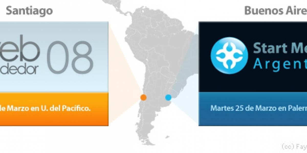 Webprendedor en Santiago y Start Me Up en Buenos Aires abren sus inscripciones