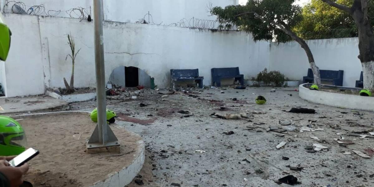 ELN estaría detrás del atentado contra estación de policía en Barranquilla