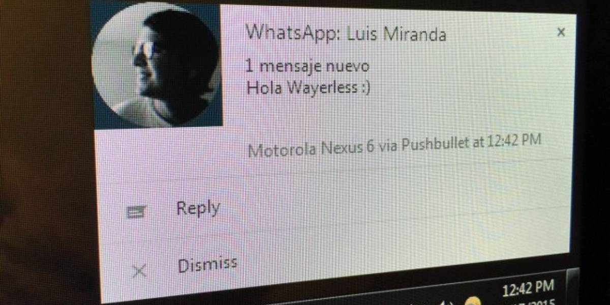Responde los mensajes de WhatsApp desde tu PC con Pushbullet