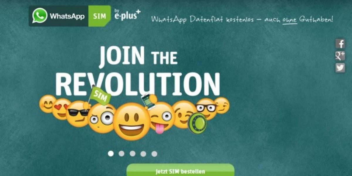 Operadora Alemana E-Plus crea una OMV basada en WhatsApp