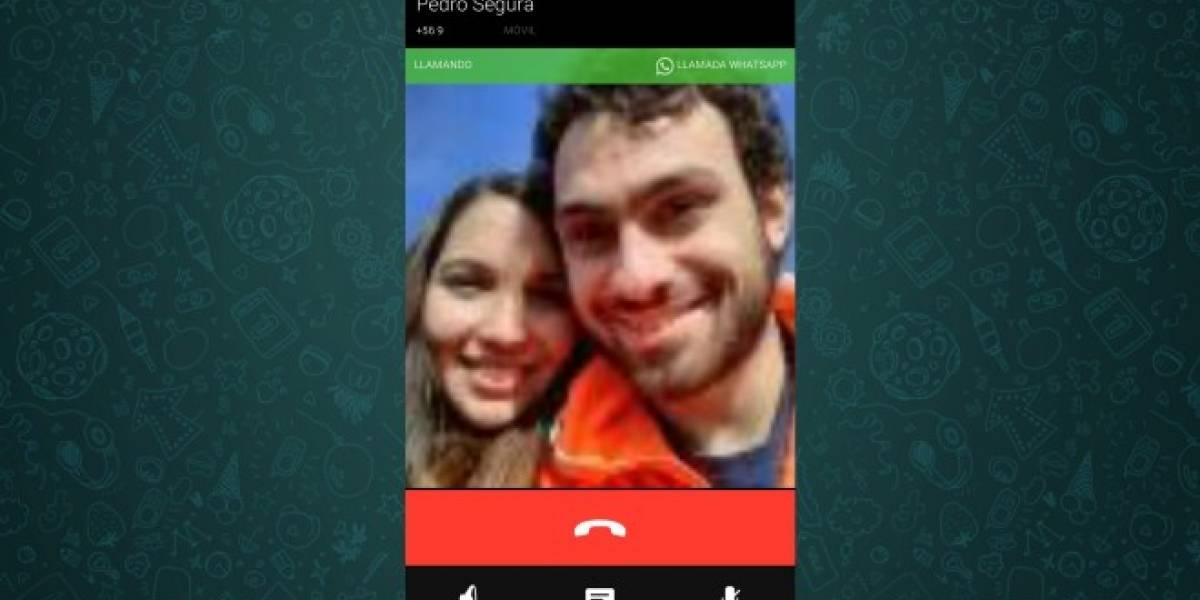 Última beta de WhatsApp para Android muestra las llamadas de voz