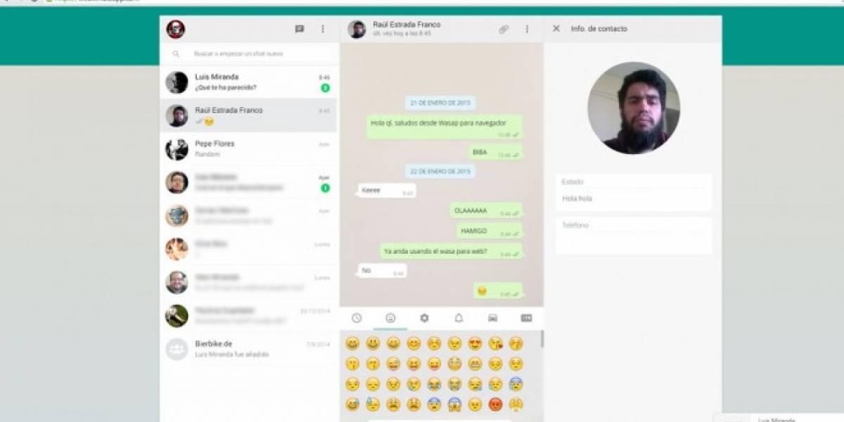 ¿Qué te ha parecido WhatsApp para web? [W Pregunta]