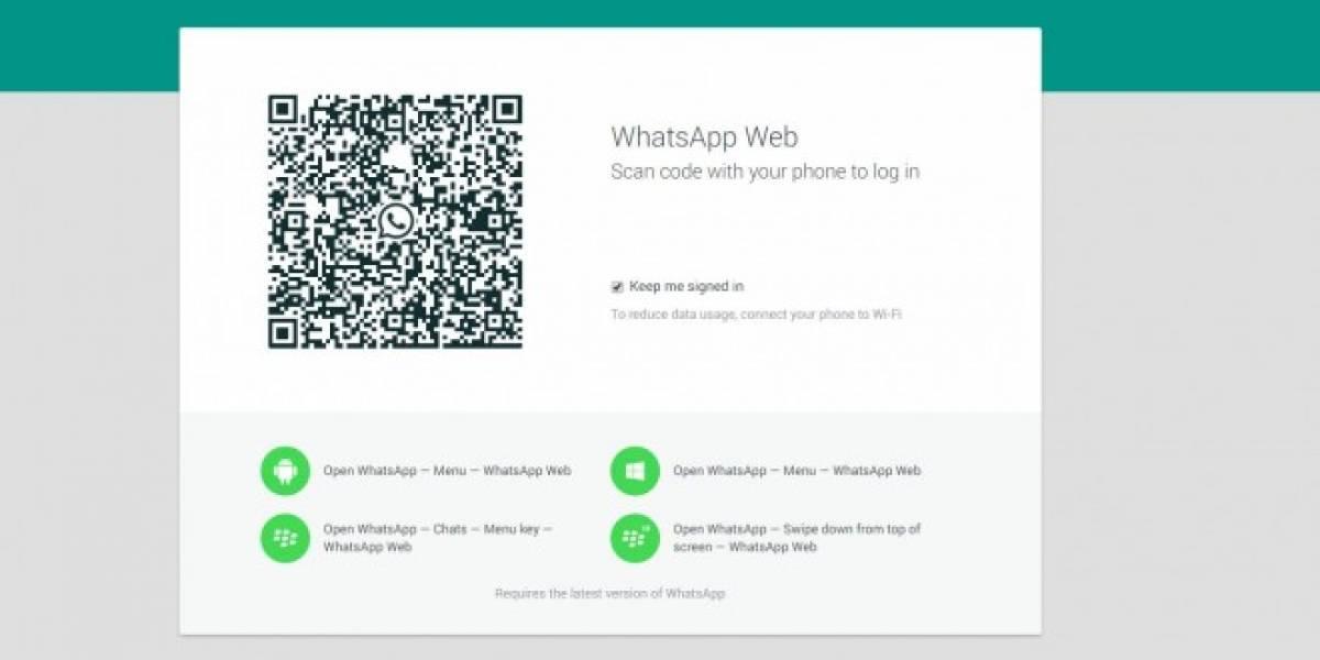 WhatsApp lanza cliente para web [Actualizado]