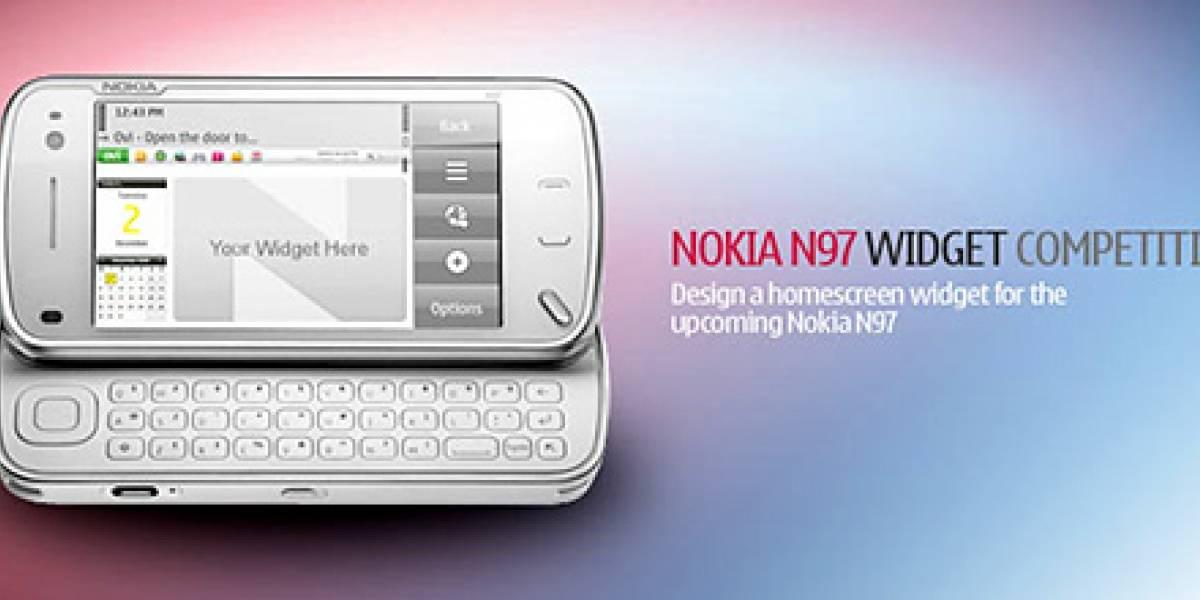 Nokia regala un N97 por diseñar un widget para el equipo