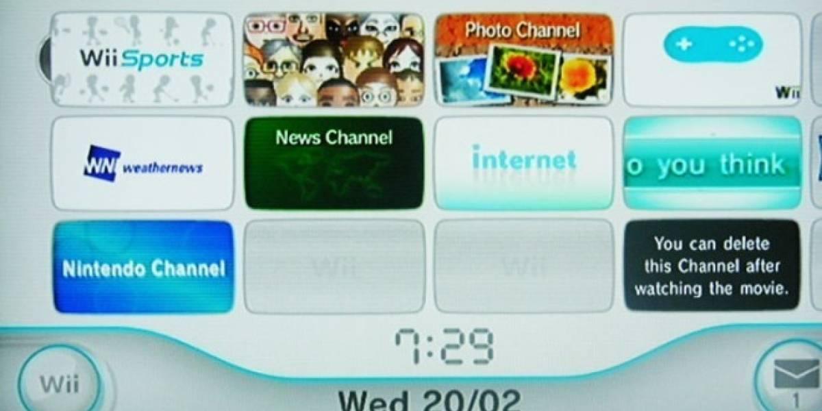 Comienza a apagarse: Nintendo cerrará algunos canales de la Wii a mediados de año