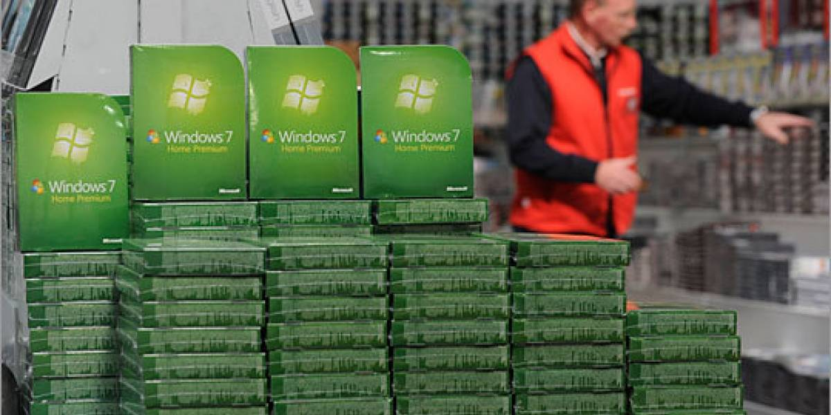Windows 7 ha vendido 100 millones de licencias