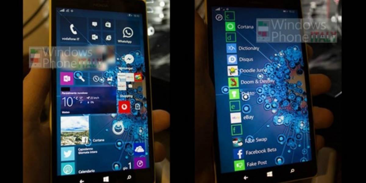 Así se verá Windows 10 corriendo en un smartphone