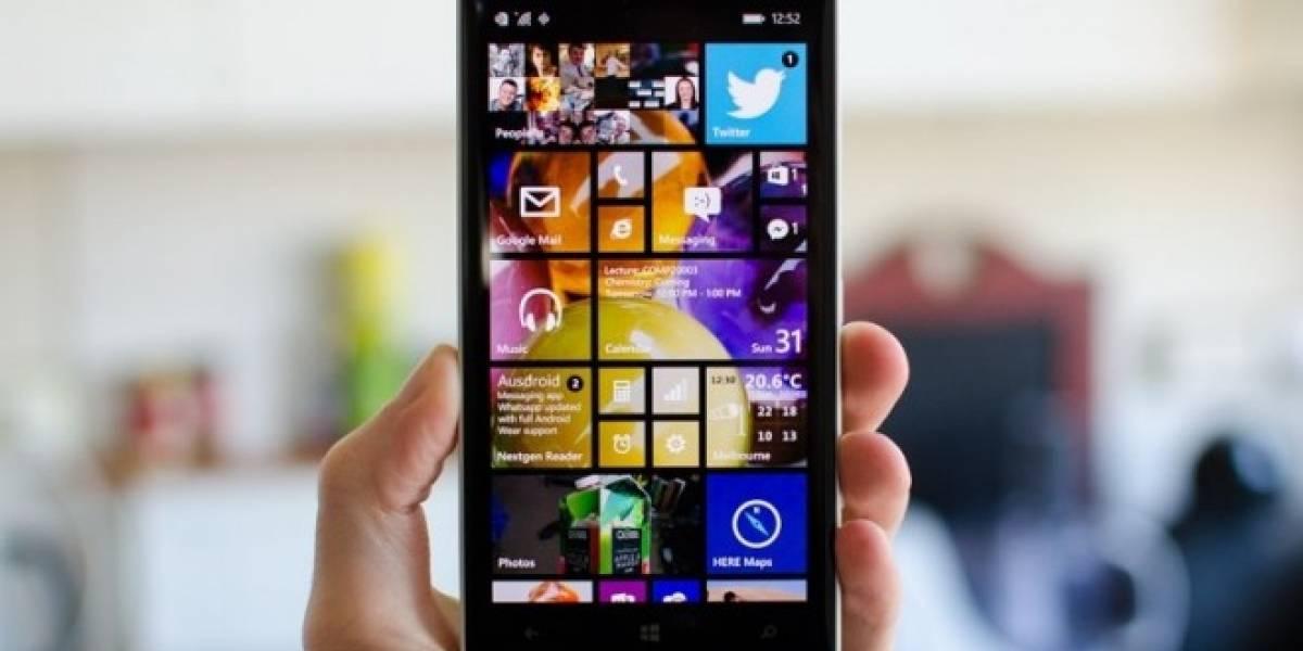 Buenos resultados han arrojado las pruebas de Windows 10 en equipos Lumia con 512MB de RAM
