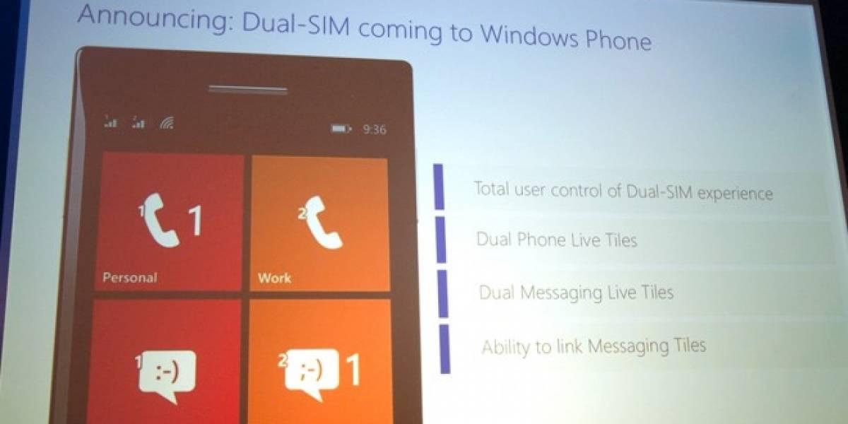 Windows Phone aceptará dual-SIM y características más básicas #MWC14