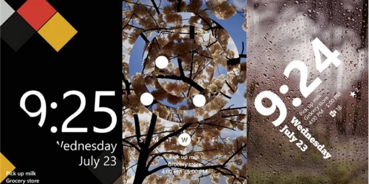 Ya está disponible la nueva pantalla de bloqueo para Windows Phone