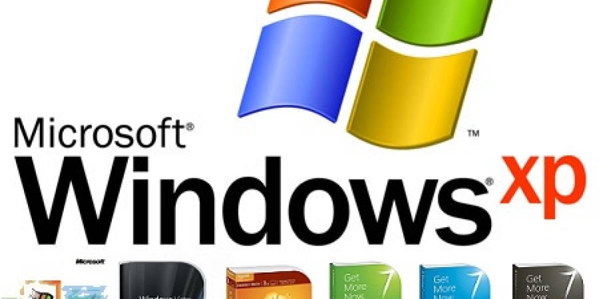 Windows XP aún mantiene el 59.07% de participación de mercado