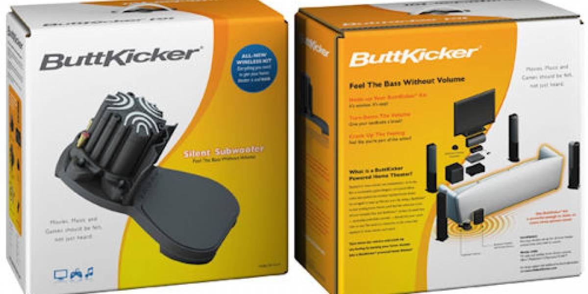 ButtKicker Wireless Home Theater Kit: Sonido que te hará vibrar