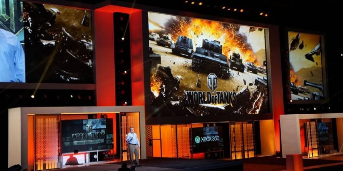 World of Tanks llegará a los millones de jugadores de Xbox 360 #E3