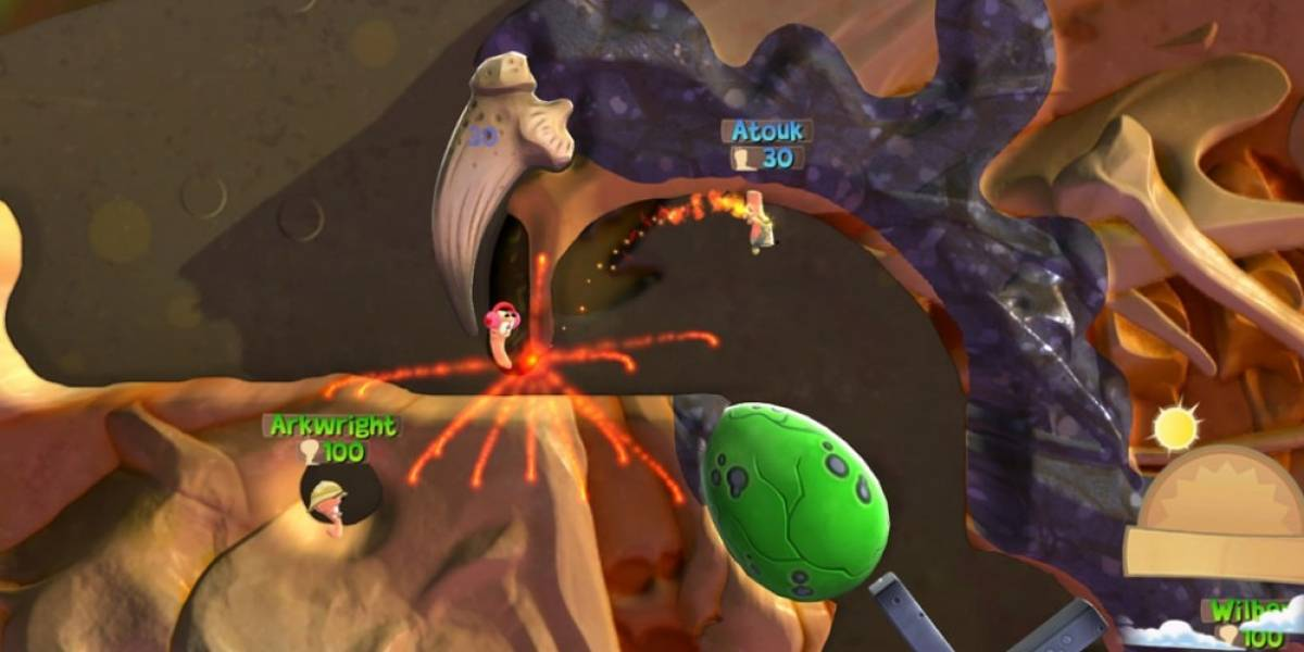 Worms Battlegrounds llega a PlayStation 4 y Xbox One